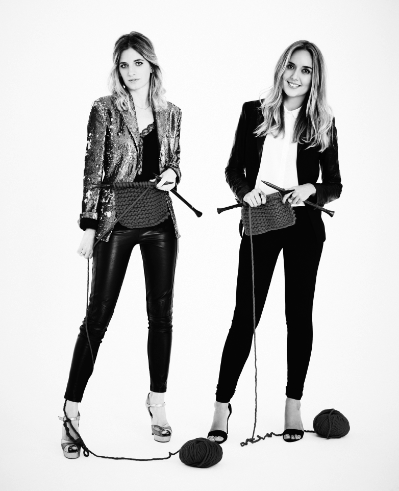 Wool & the Gang co-founders Jade Harwood and Aurelie Popper  (Source:  businessmadame.com )