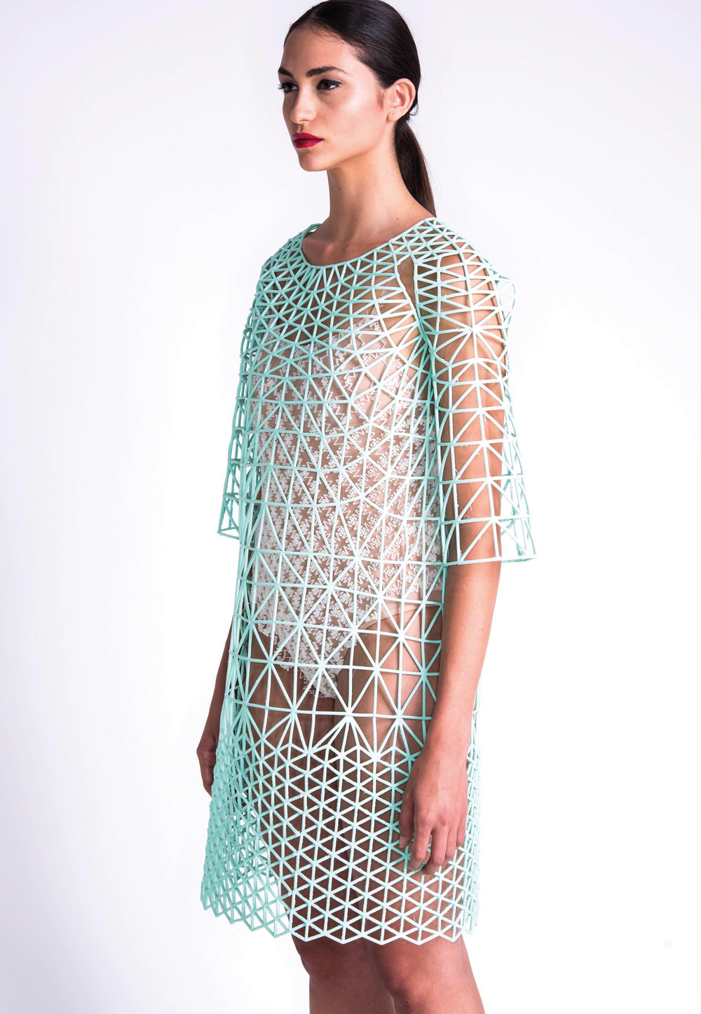 3D printed clothing collection by  Danit Peleg