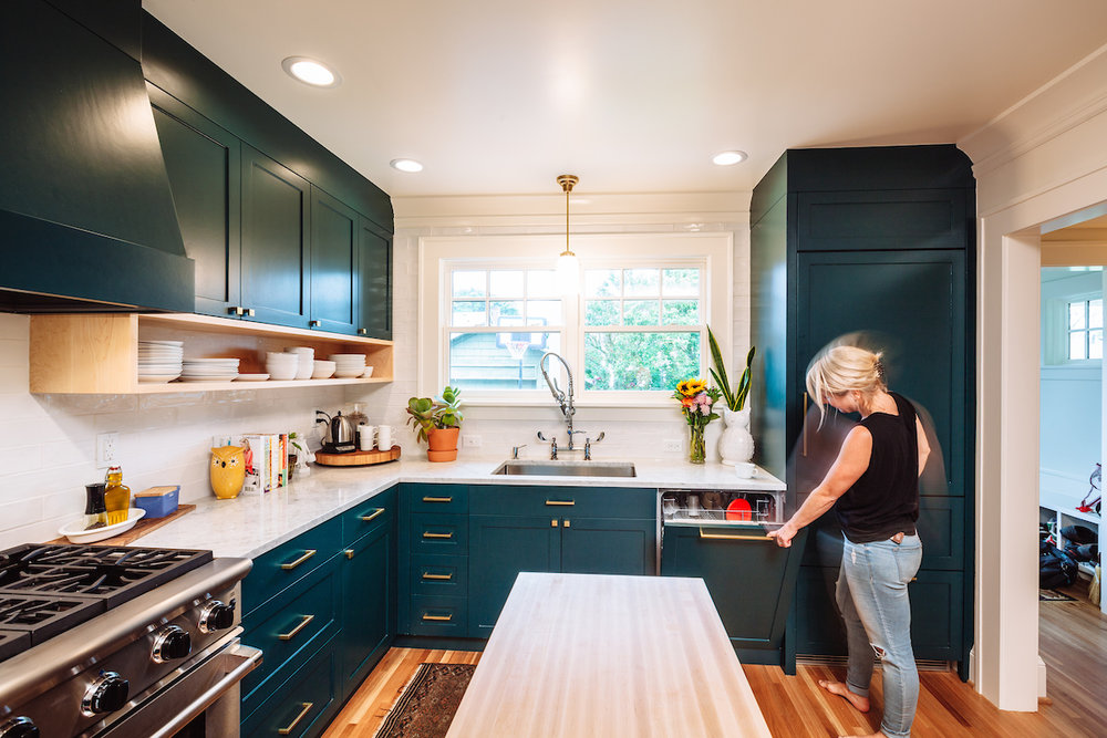 Sellwood Portland Kitchen Remodel