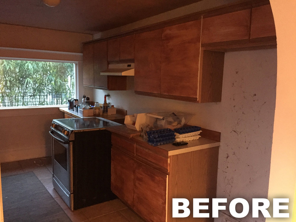 Before Picture Rose Park Kitchen Remodel Portland