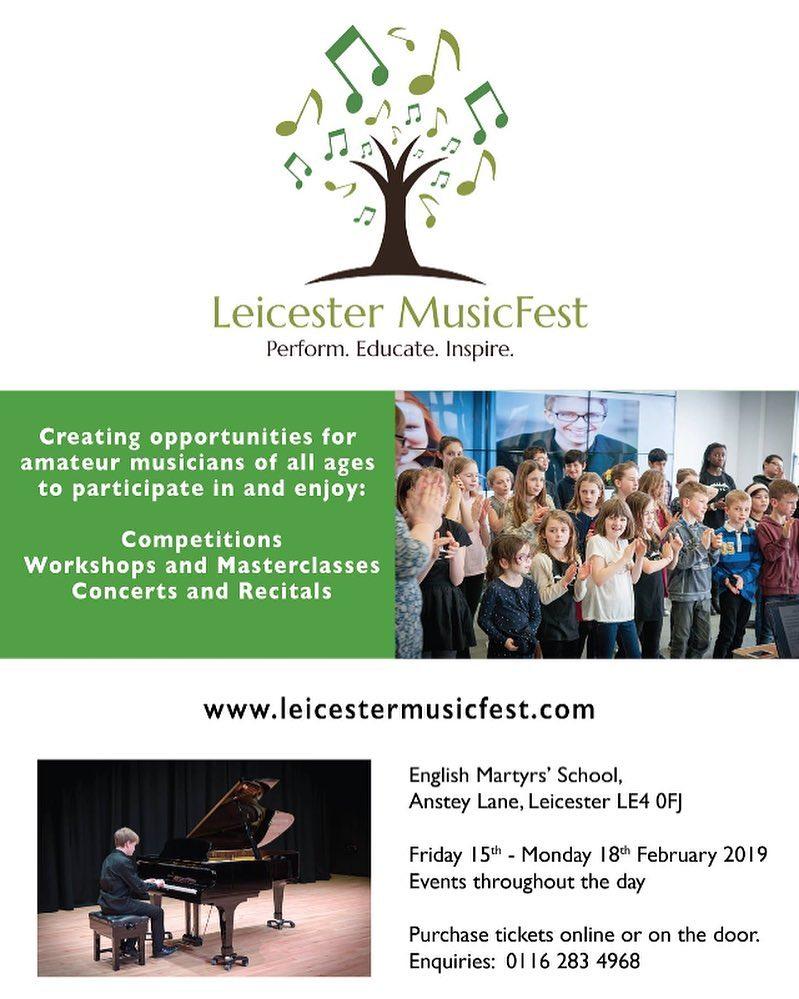 Leicester MusicFest - Feb 2019