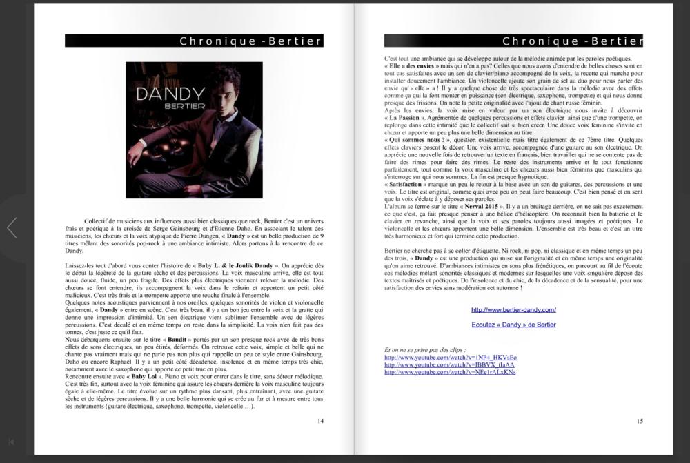 Amalgame musical webzine