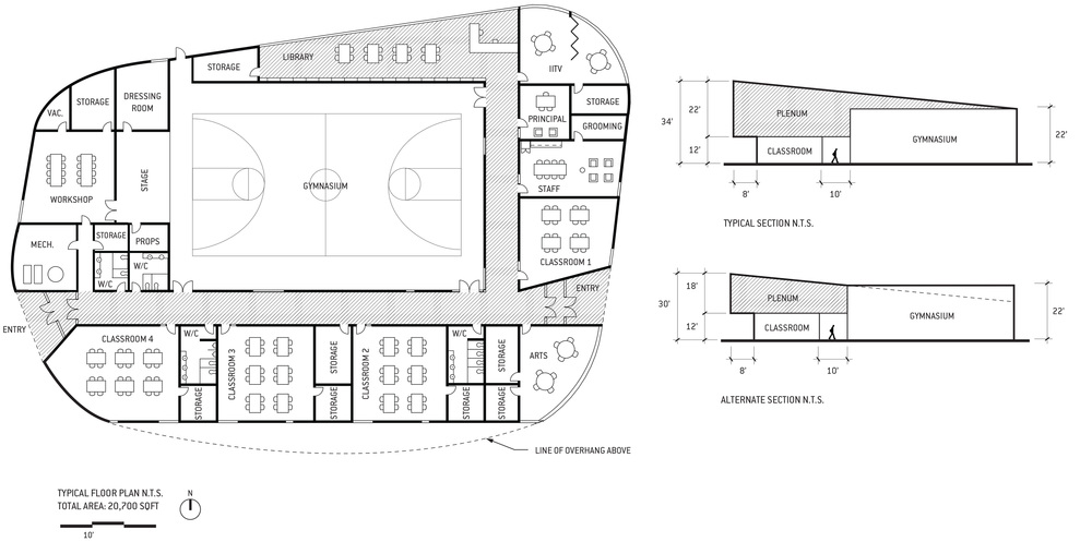 Peace Valley School_Floor Plan+Section.jpg