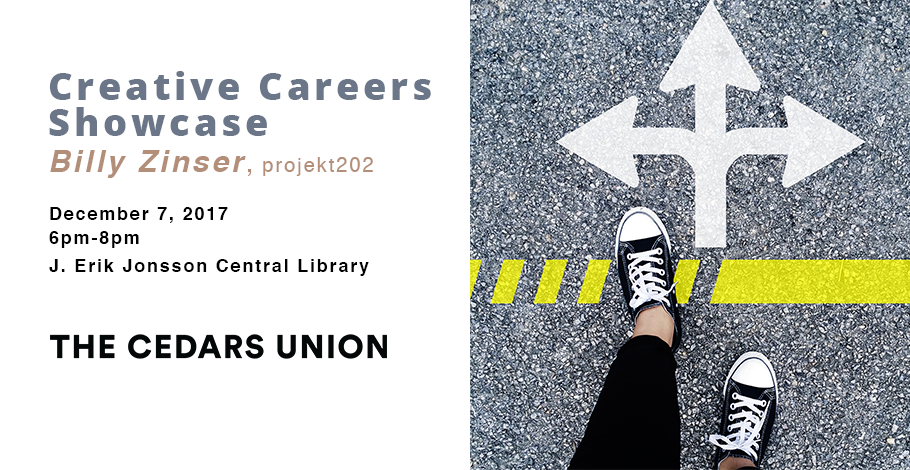 Creative Careers Showcase Billy Zinser FB banner.png