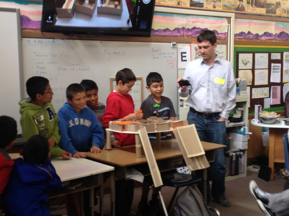 PRESENTING TO THE CLASS THE FINISHED PRODUCT. STUDENTS MUST SHARE WHO THEY DESIGNED FOR, THE CLIMATE WHERE THE HOUSE IS AND THEN WALK US THROUGH THE DESIGN.