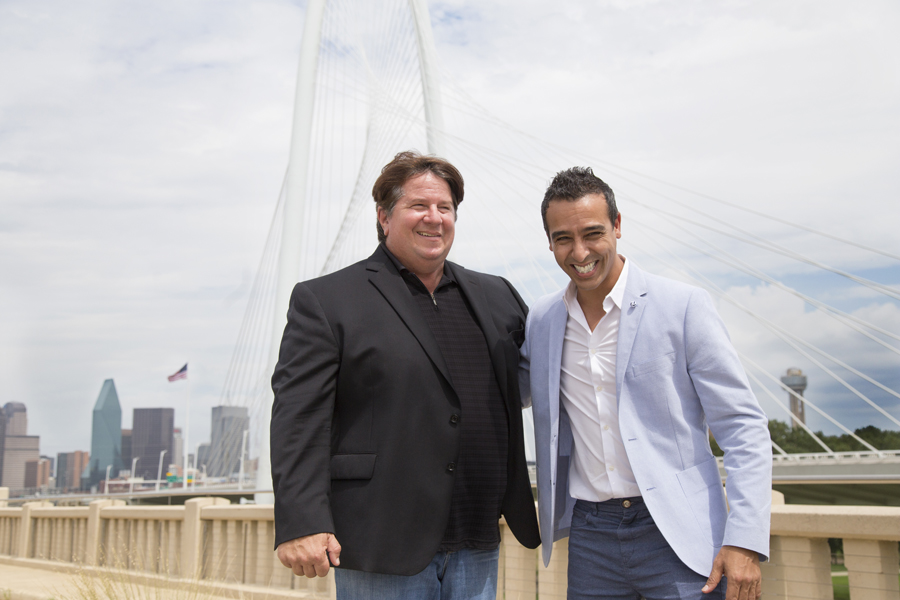 Mike and Simo, founders of innoVia