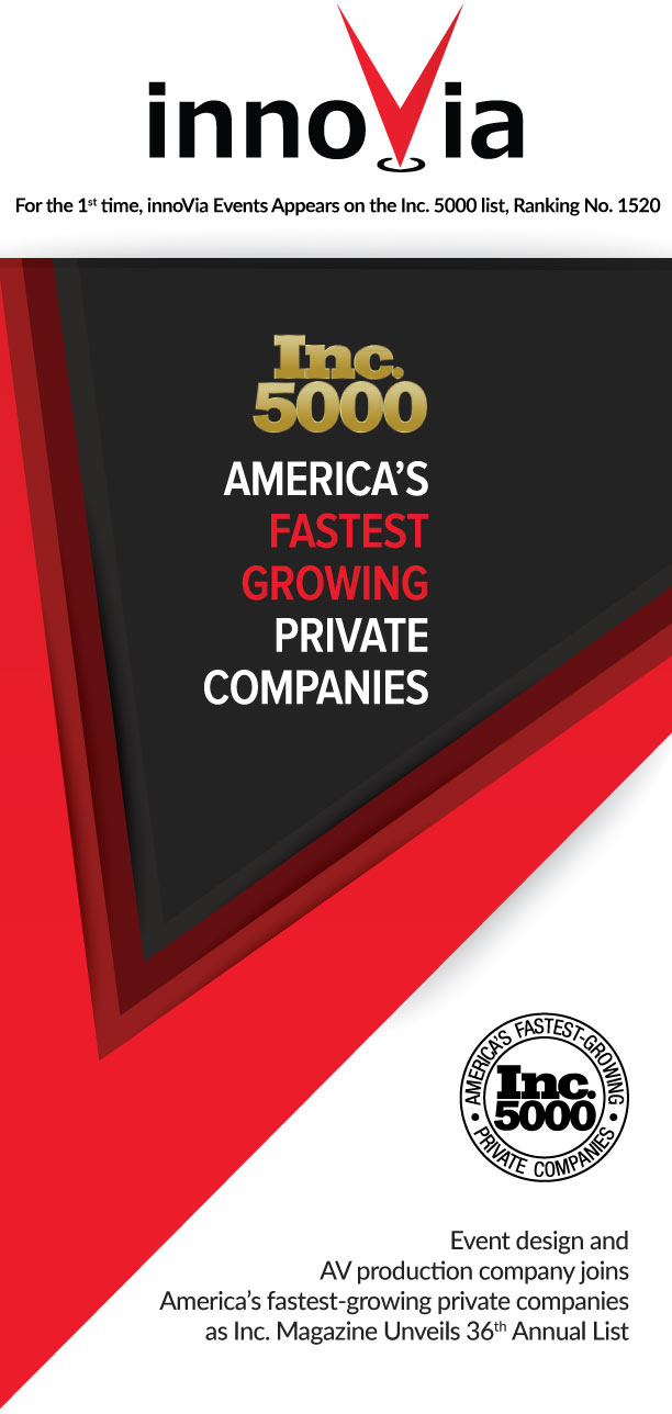 innoVia Makes Inc 5000 list of America's Fastest-Growing Companies