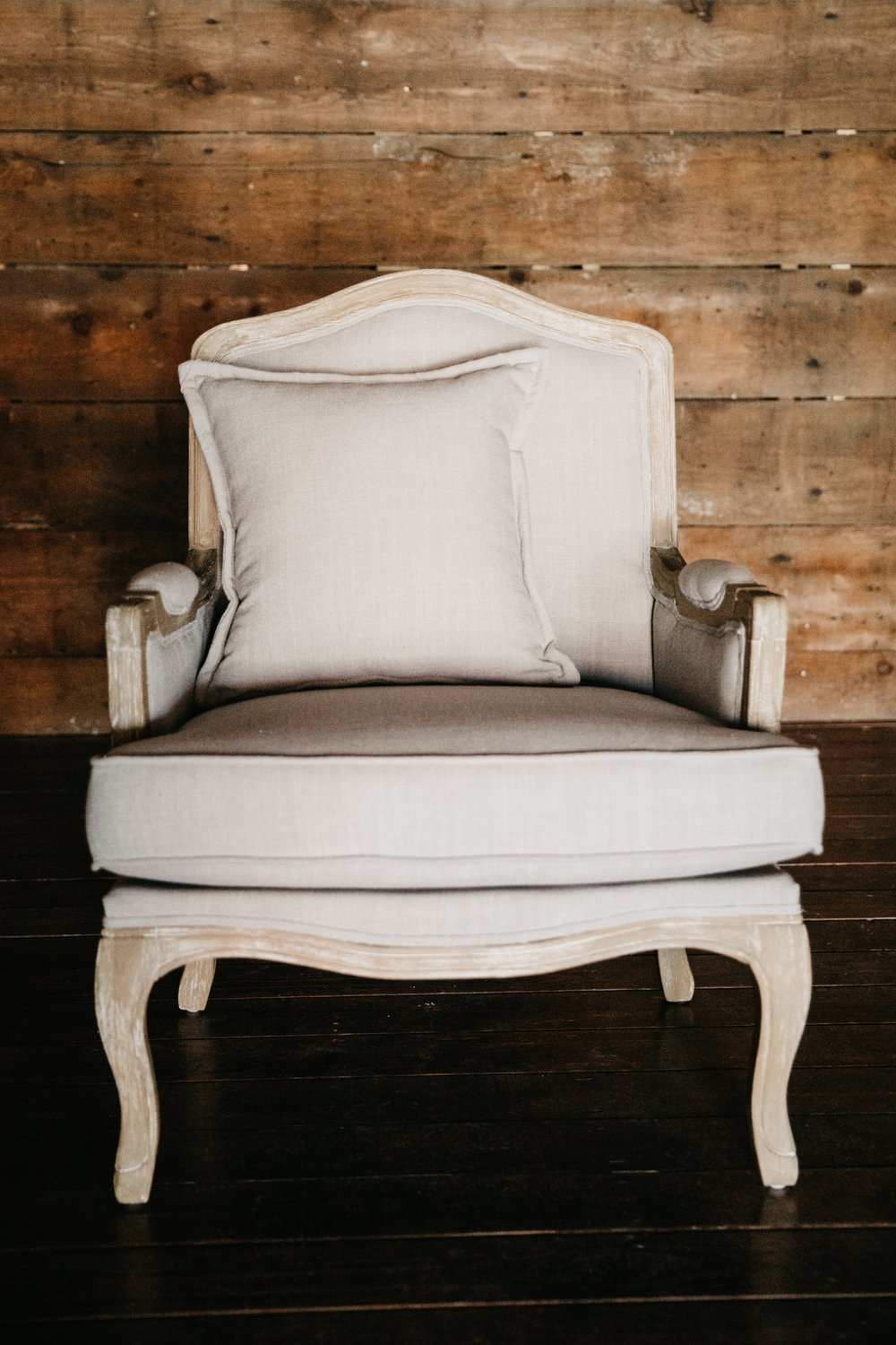 emanuelle arm chair $120ea {qty 2}