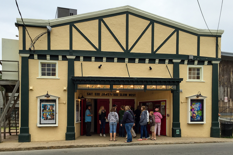 The Capawock Theatre on Opening Day, May 29, 2015