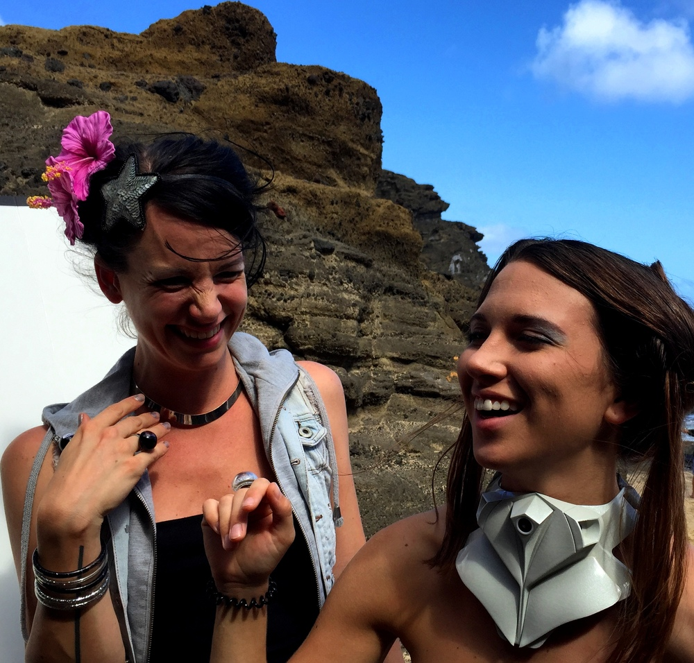 Wearable Fashion Tech, Halona Blowhole, HI