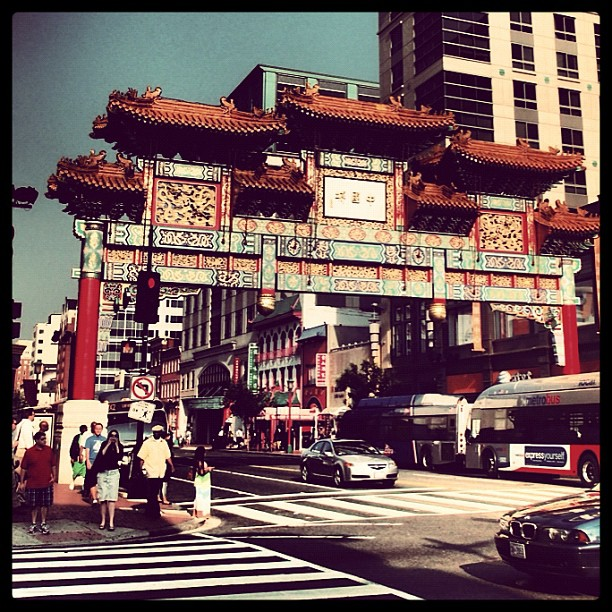 Chinatown, DC or Gate Gate. (Taken with  Instagram  at Chinatown Arch)