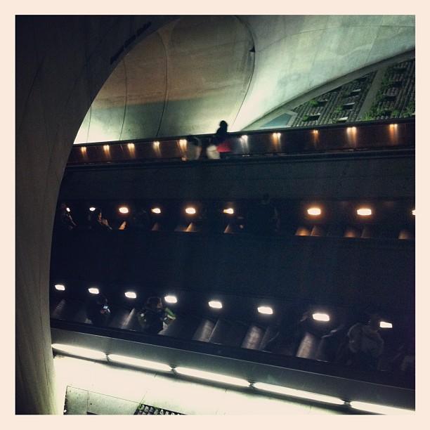 DuPont Circle Subway, DC (Taken with  Instagram  at Dupont Circle)