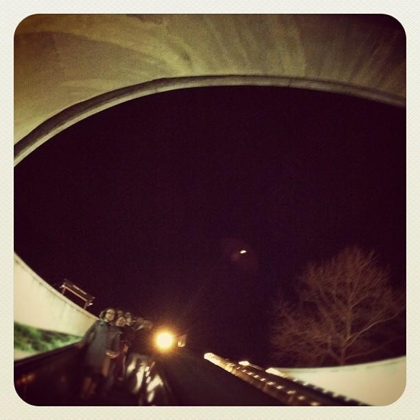 Eye Of DuPont or Circle in the Iris, DC (Taken with  Instagram  at Subway)