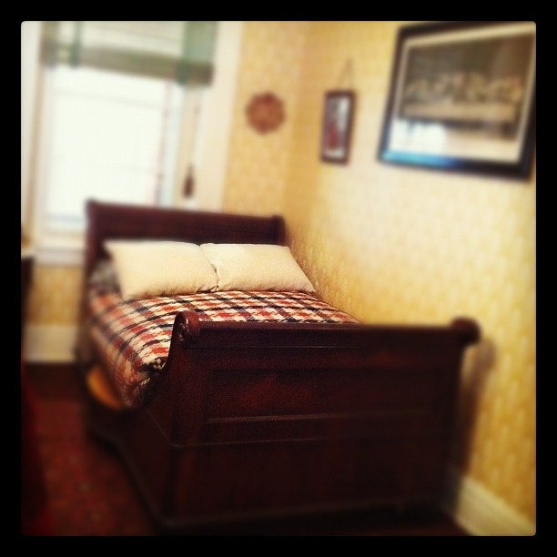 Deathbed, Dc (Taken with  Instagram  at The House Where Lincoln Died)