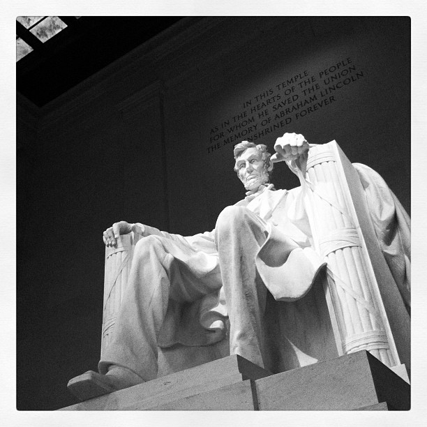 Abraham L., DC (Taken with  Instagram  at Lincoln Memorial)
