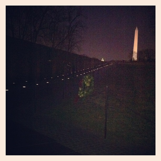 From Here To There, Vietnam War Memorial, DC (Taken with  Instagram  at ★ Vietnam Veterans Memorial ★)