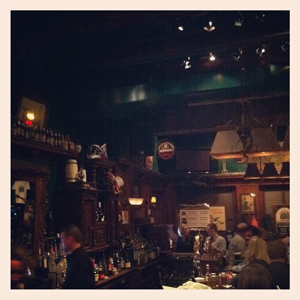 Pre-Train Boarding Requirement, DC (Taken with  Instagram  at Dubliner Restaurant & Pub)