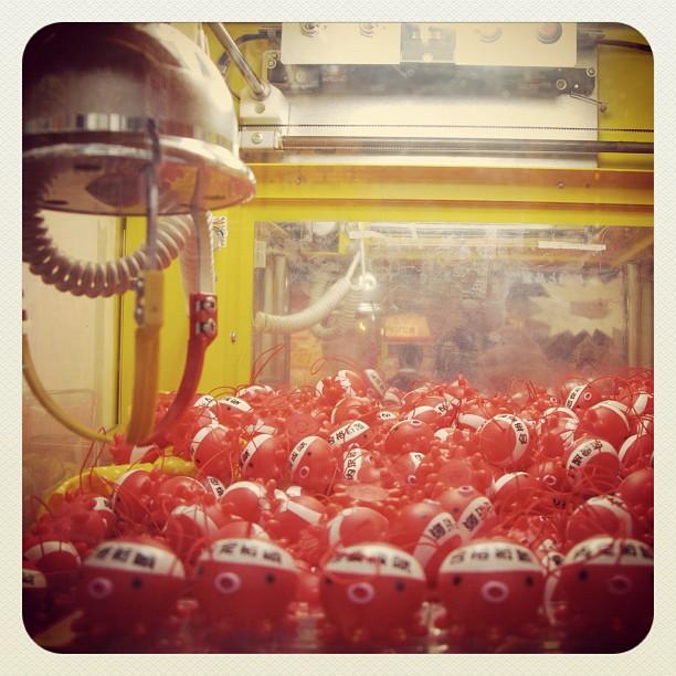 Ten Thousand Tiny Octopus Vending Machine of Chance (Taken with  Instagram  at Shinju-ku Tokyo Japan)
