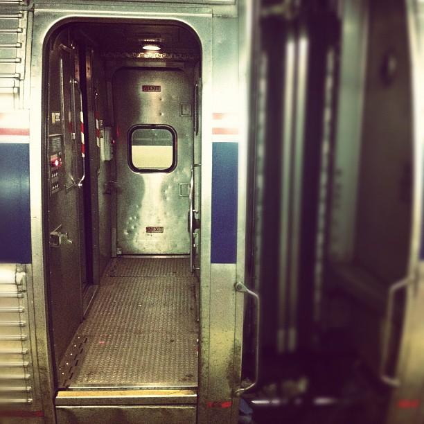 Taken with  Instagram  at Penn Station - NJ Transit - Track 4