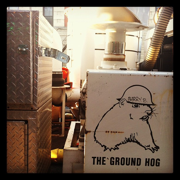 Groundhog Day, Brooklyn  (Taken with  Instagram  at K & M)