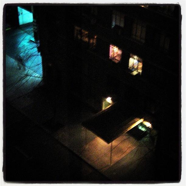 Ghost Figure, Manhattan NYC (Taken with  instagram )
