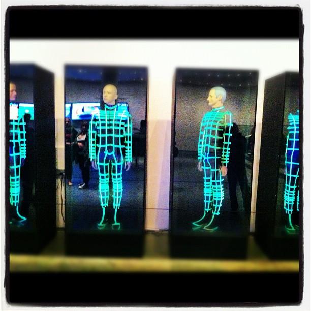 Kraftwerk Robots, NYC (Taken with  Instagram  at Museum of Modern Art (MoMA))