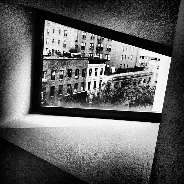 Window View, New York NY (Taken with  Instagram  at Whitney Museum of American Art)