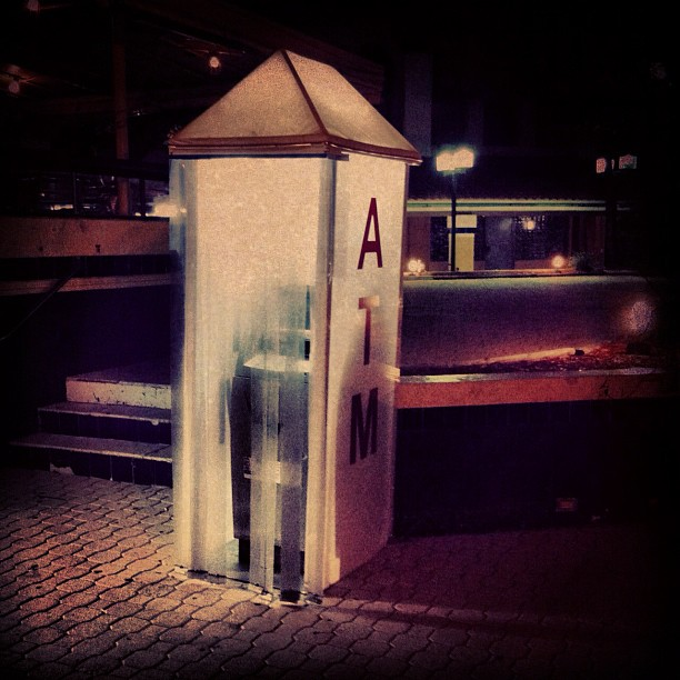 ATM or Economic Shroud, Hollywood Beach FL (Taken with  Instagram  at Hollywood Beach Broadwalk)