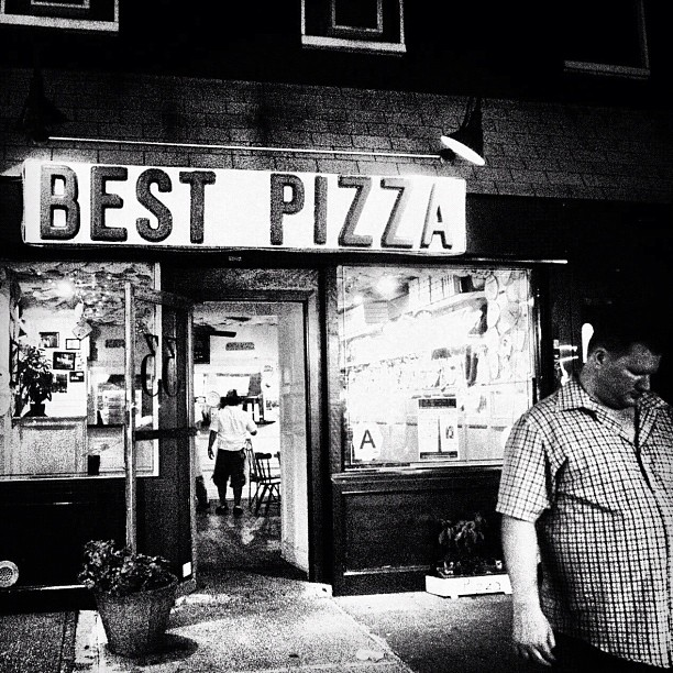 After, Brooklyn NY (Taken with  Instagram  at Best Pizza)