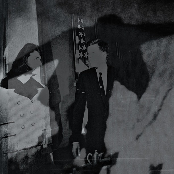 Hysteric Nostalgia No. IV or The Physical Impossibility of Death in the Mind of Someone Living No. ❼: As If A Paranormal Film Still of An Historical Figure The Day Before An Assassination Event, JFK Memorial FT Worth Texas (at John F. Kennedy Memorial Plaza )