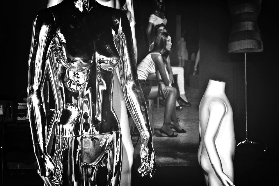 Version ❷ 「uncut Science Fiction 」Post Capillary Dilation of Blush Response Session [No. ②]: As If A Film Still From A Deleted Scene From The Yet Unnamed Sequel For Bladerunner, or Mannequin Waiting Room, Fashion District, NYC or Now In The Present Tense, 36th Street NYC  by  dogonpremise  on  EyeEm