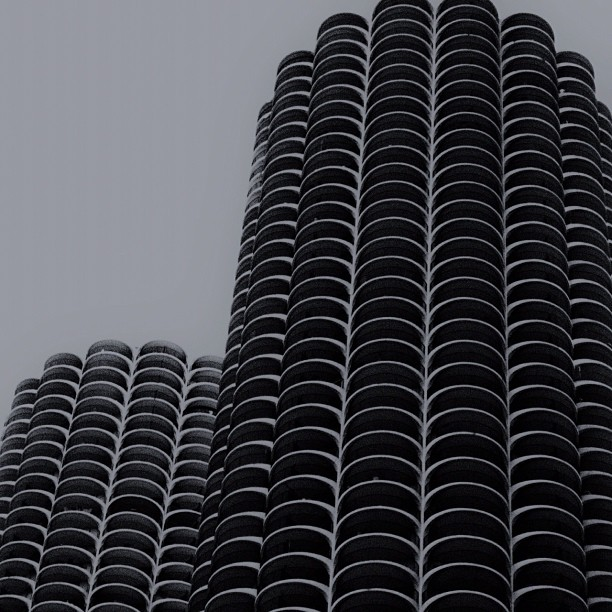 Ovalisques, Marina City, Chicago (Taken with  Instagram )