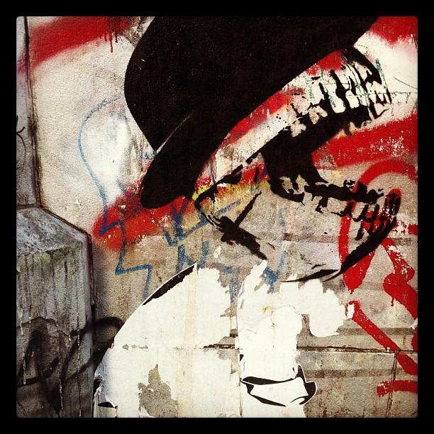Graffiti Art, Outside Sammy's, Bowery NYC (Taken with  Instagram  at Sammy's Roumanian Steakhouse)