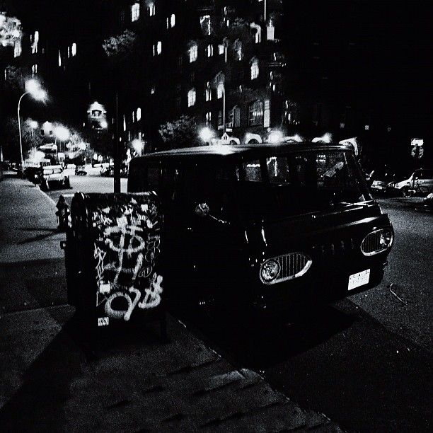 [The] Wages of Fear (No .1) or Heist Scene Imagined: Contemplating Ambiguities Incurred Whilst Waiting, Brooklyn NYC
