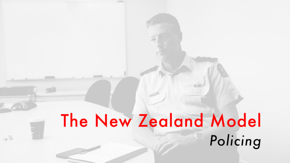 Jason Hewett, former Area Commander New Zealand Police