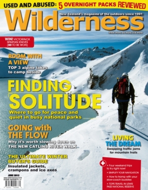 Front cover I shot for Wilderness