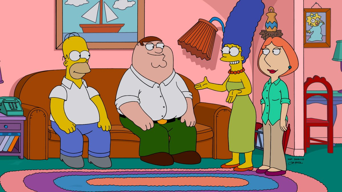 peter griffin in the simpsons
