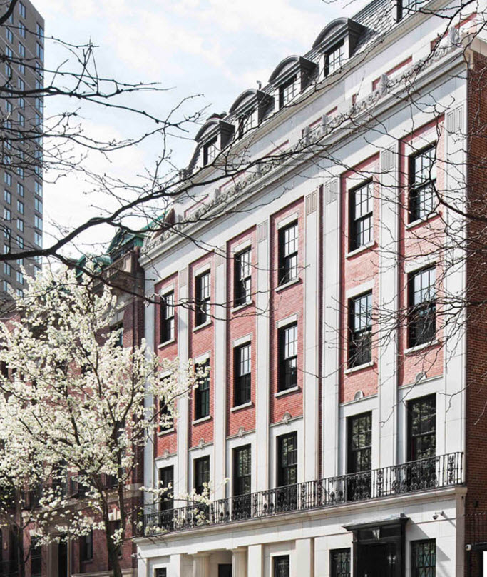 upper east side townhouse    type:  residential renovation   year:  2014   location:  New York, NY   scope:  30,000 sf core and shell renovation. landmark restoration of existing facade, structural steel, underpinning, new structural staircase and elevators. partial building demolition