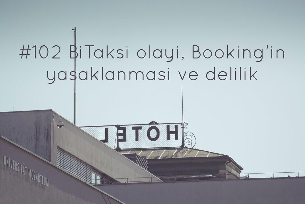 Booking yasaklanması
