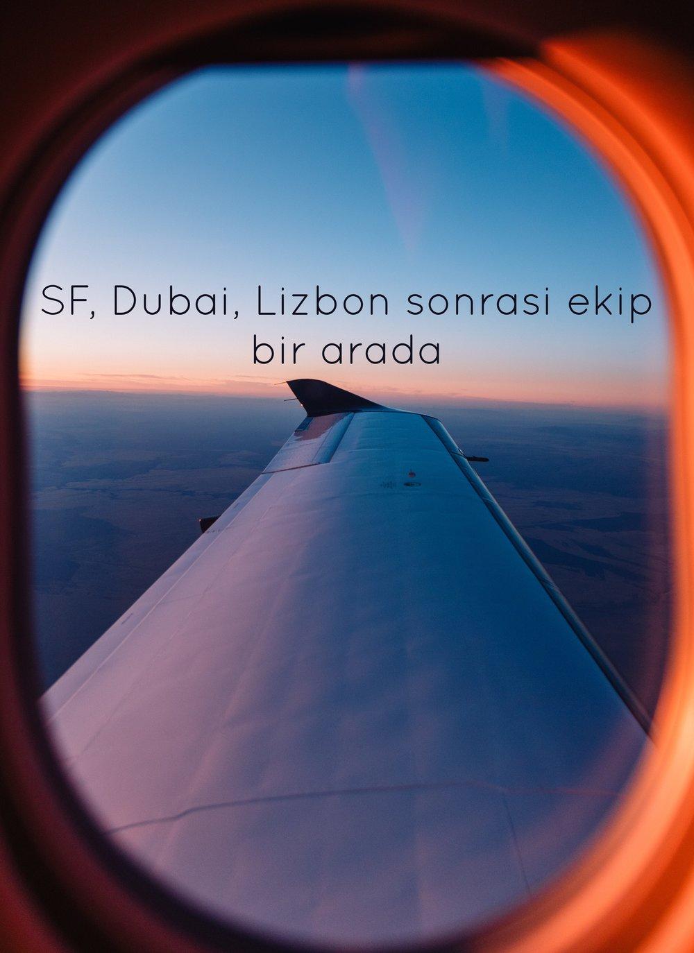 SF-Dubai-Lizbon