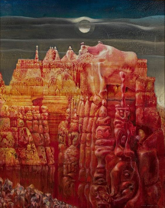 Max Ernst, Bryce Canyon