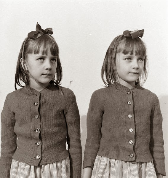 Charles Steinheimer, Twins At Soquel School, 1947
