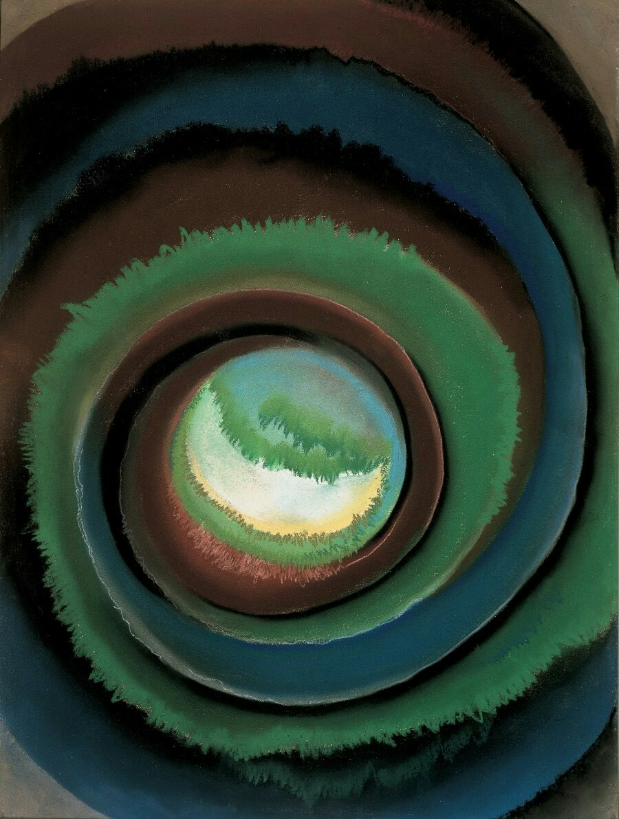 Georgia O'Keeffe, Pond in the Woods, 1922