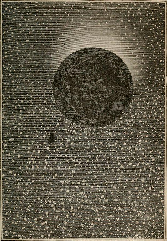 Jules Verne - De la Terre à la Lune, 1874.