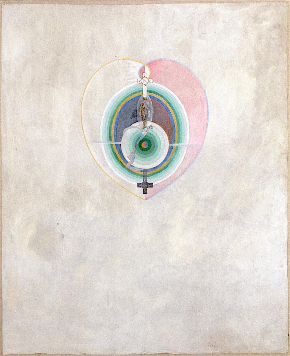 Hilma af Klint, The Dove, no. 11