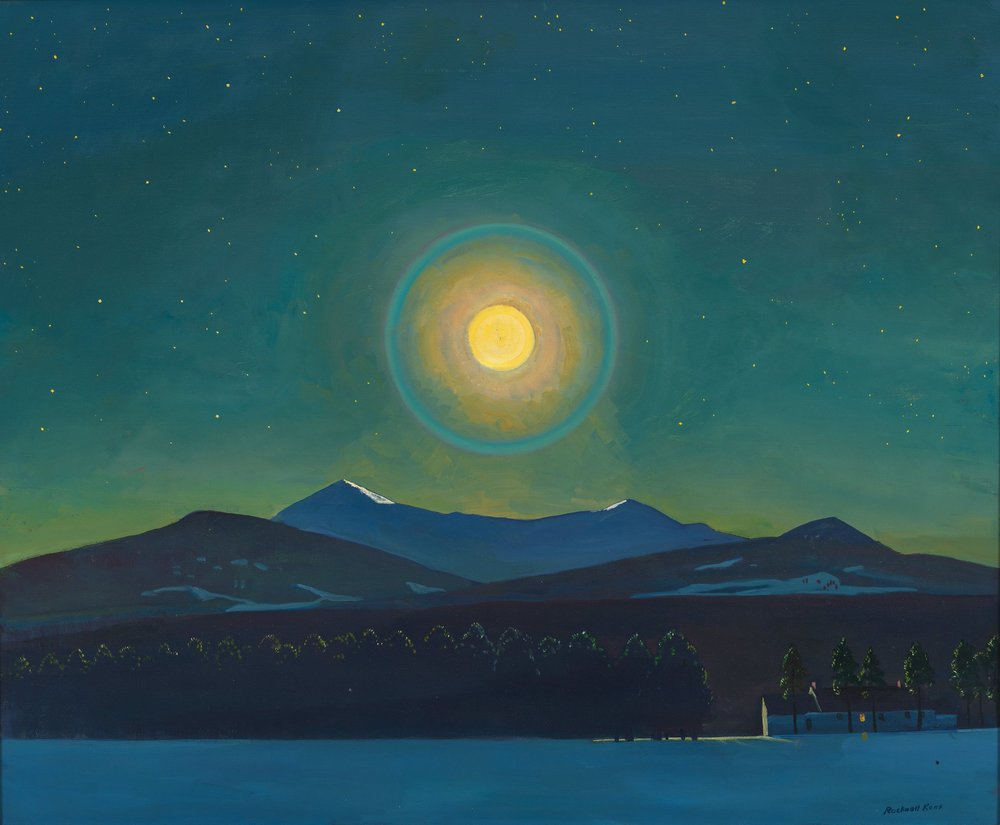 Rockwell Kent,  Moonlight Winter