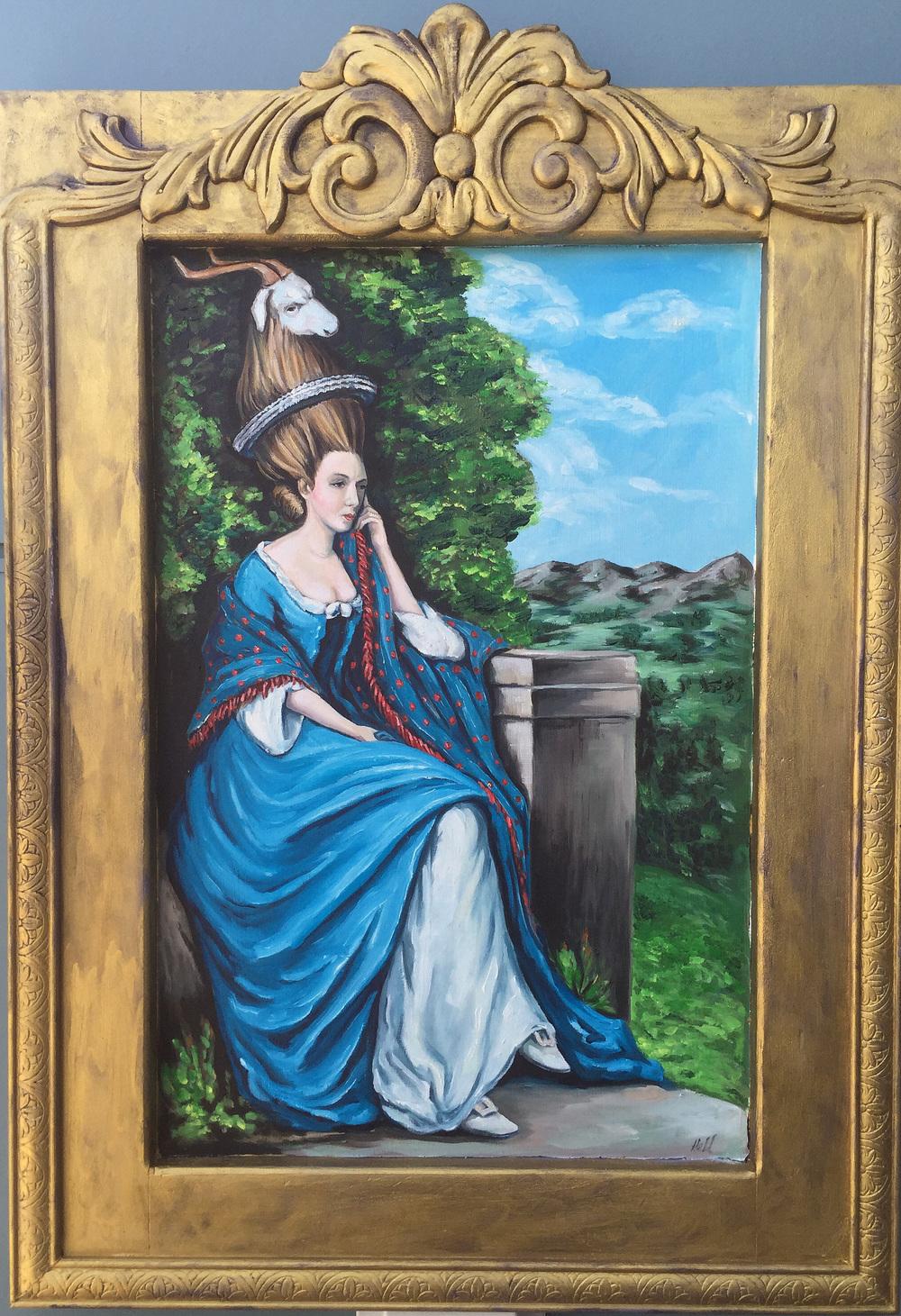 Portrait of Lady A____