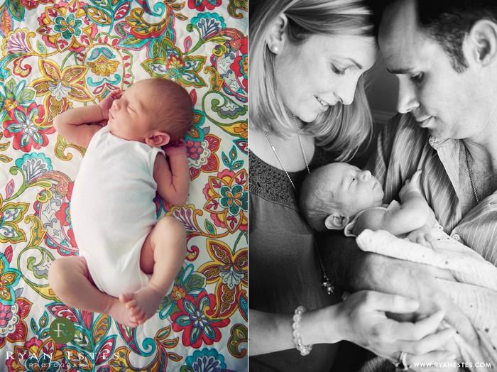 Media newborn photography