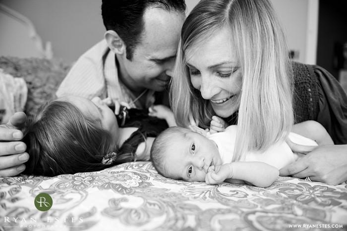 Welcoming newborn baby L