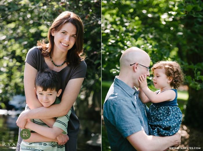 Morris Arboretum family portraits